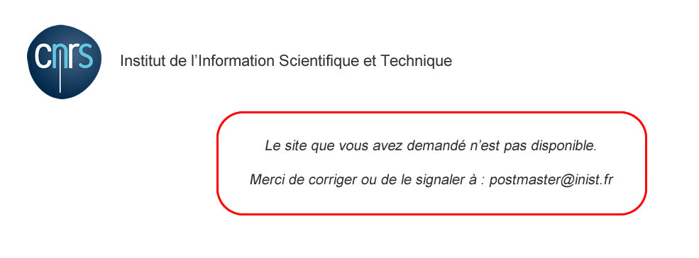Centre National de la Recherche Scientifique - CNRS